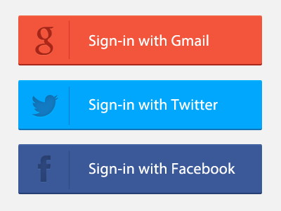 Freebie-PSD-Signin-Button